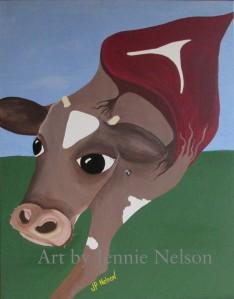 Copy of cow watermark